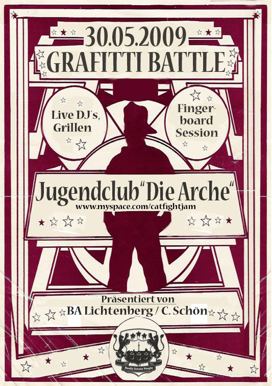 Flyer vom Arche-Battle am 30.05.2009